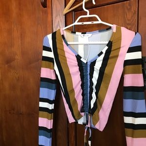 NWT Striped Top, SzXS.                    10-41HIT